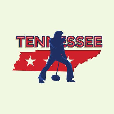 tennessee: bandera de Tennessee