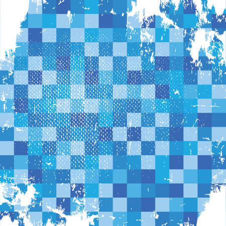 checkered background: Grunge checkered background Illustration