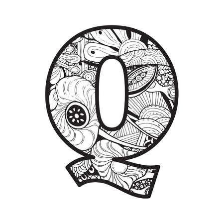 letter q: Letter Q Illustration