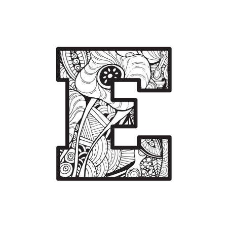 vowel: Letter E