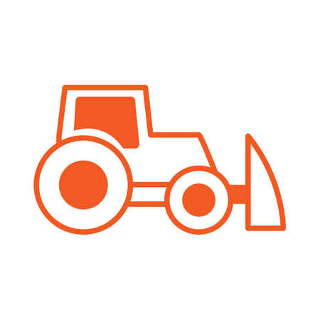 diggers: Plow truck icon