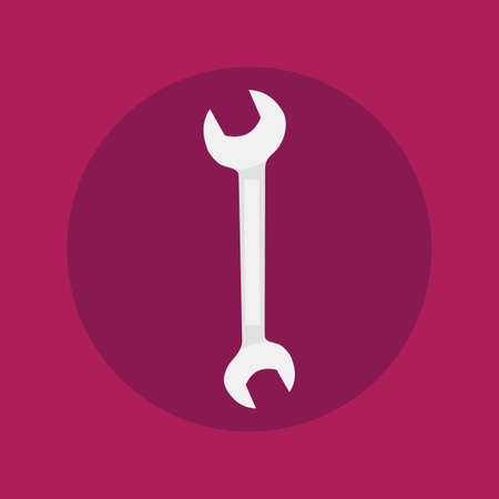 open end wrench: Spanner icon