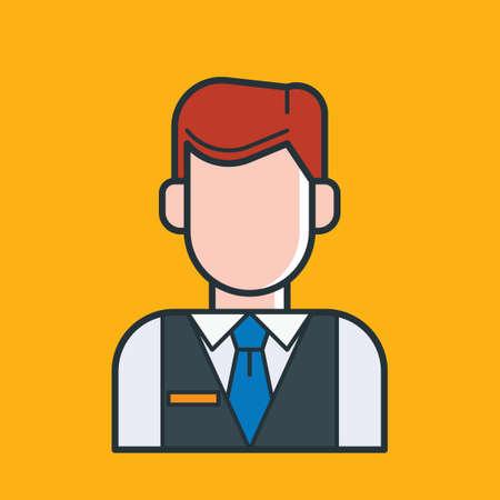 hotel receptionist: Hotel receptionist