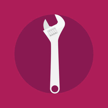 adjustable: adjustable wrench icon