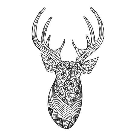 caribou: Intricate reindeer design
