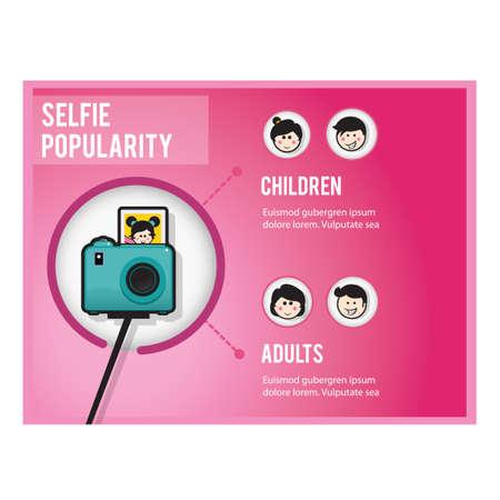 popularity: Selfie popularity infographic