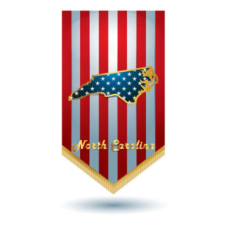 north carolina: North carolina state banner