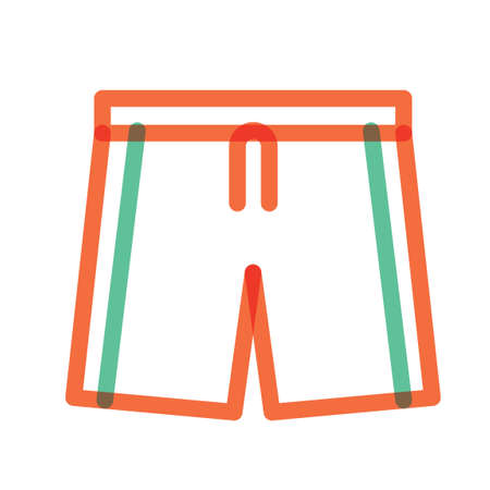 menswear: Beach pants Illustration