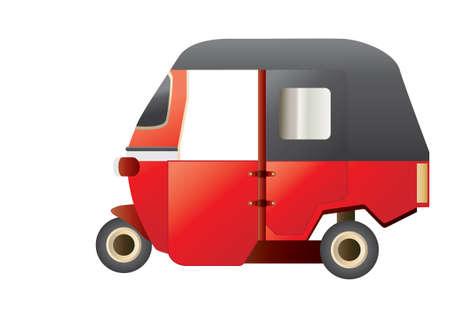 rikscha: Auto-Rikscha