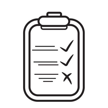 pad: Pad with check list