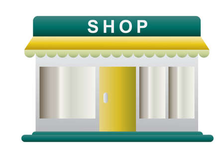 retail display: Shop Illustration