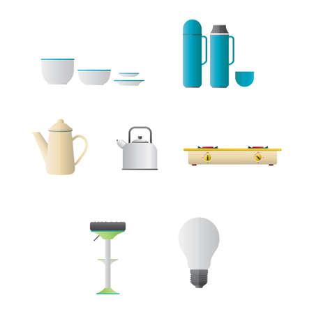 the equipment: Kitchen equipment
