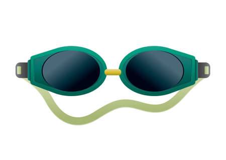 swimming goggles: Swimming goggles Illustration