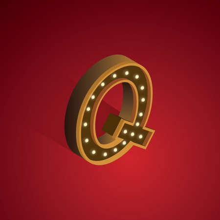 q: Isometric alphabet Q