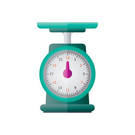 weight machine: Kitchen scale