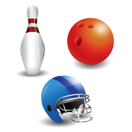 bowl game: Bowling icons