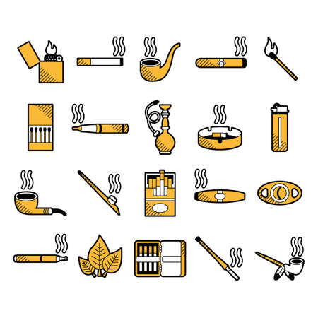 bong: Set of smoking items