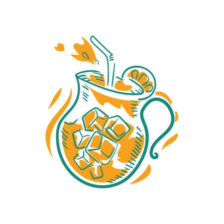 jug: Juice in jug