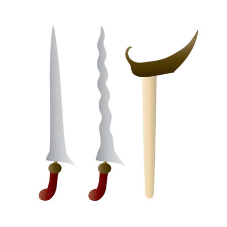 weaponry: Traditional weapon Illustration