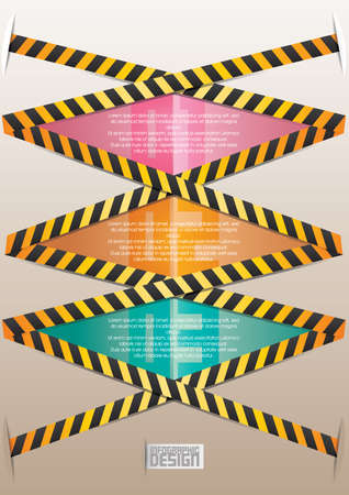 barricades: Traffic barricades infographic Illustration