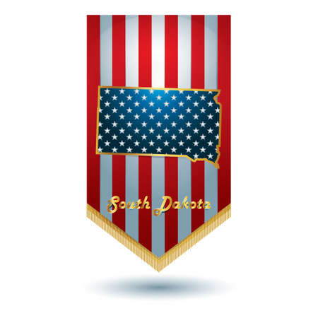 dakota: South dakota state banner