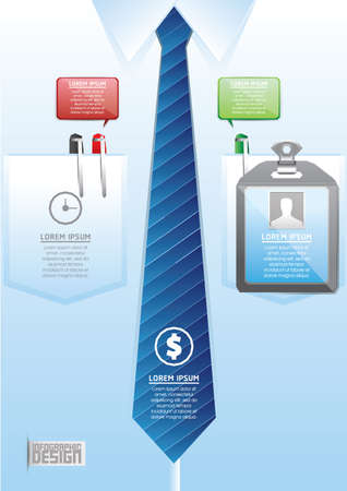 carta identit�: Identity card infographic Vettoriali
