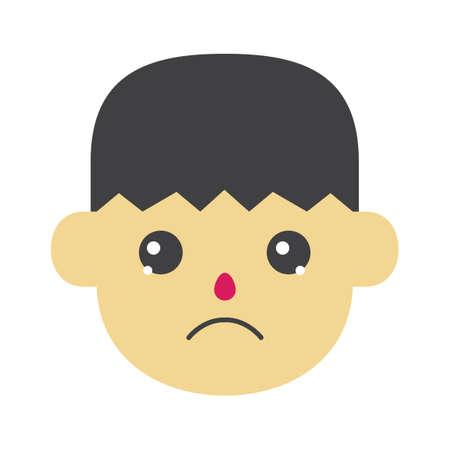sad boy: Sad boy Illustration