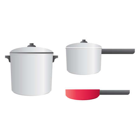 cookers: Kitchen cookware Illustration
