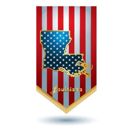 louisiana: Louisiana state banner