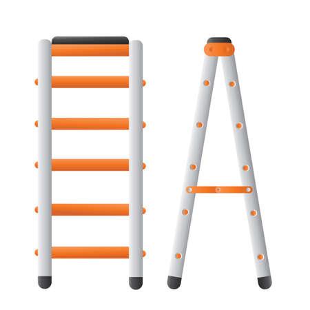 metallic stairs: Ladder