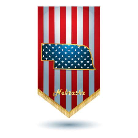 nebraska: Nebraska state banner