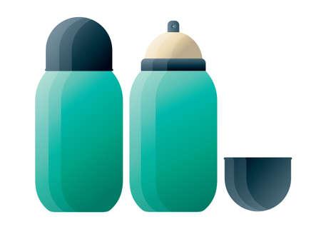 water bottles: Water bottles Illustration