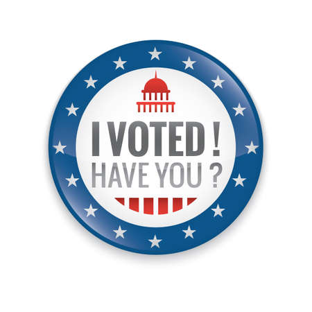 i voted: Vote badge