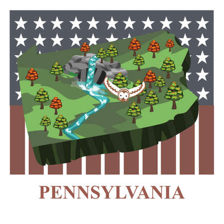 pennsylvania: Pennsylvania state map
