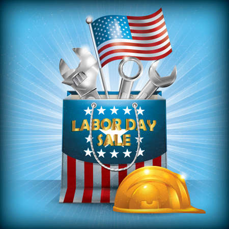 labor day: USA labor day poster