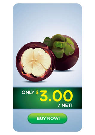mangosteen: Mangosteen on sale