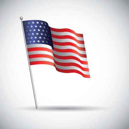 flag: Usa flag