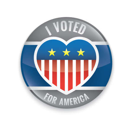 i voted: Vote badge