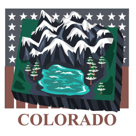 colorado: Colorado state map