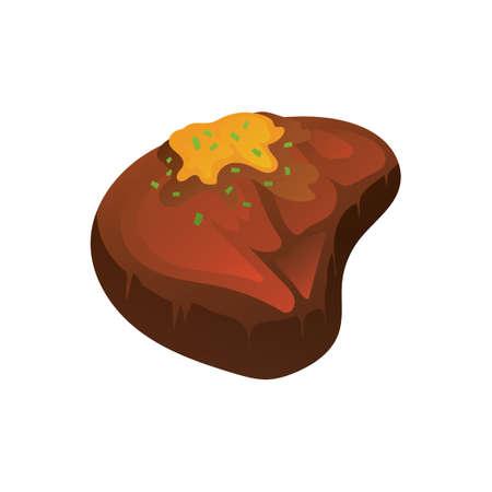 steak beef: Meat steak