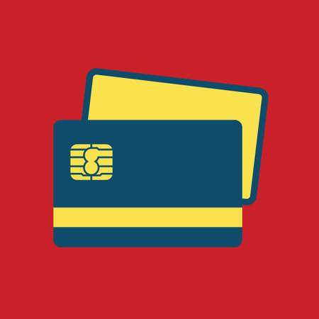 バンキング: バンキング ・ カード  イラスト・ベクター素材
