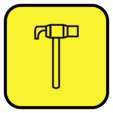 claw hammer: Claw hammer icon