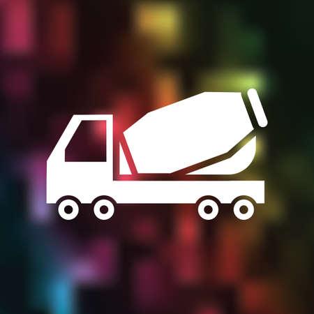 cement truck: Cement truck icon