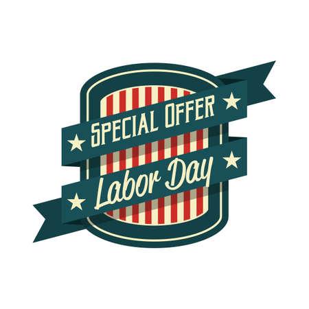offerta speciale: Offerta speciale etichetta giorno di lavoro