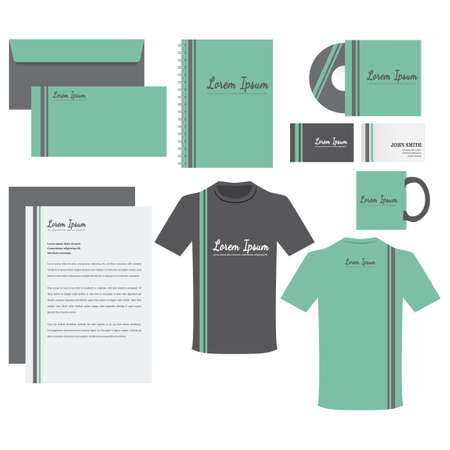 spiral book: Corporate identity elements