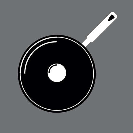 frying pan: Frying pan Illustration