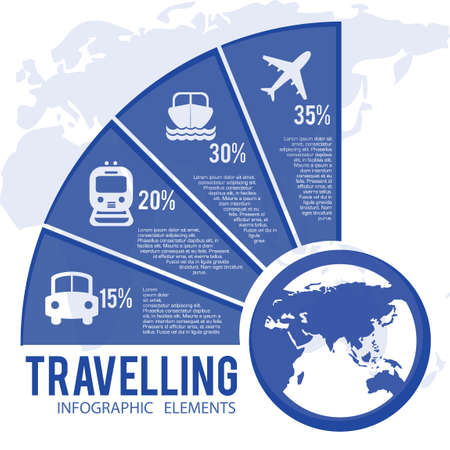 waterway: Travelling infograph