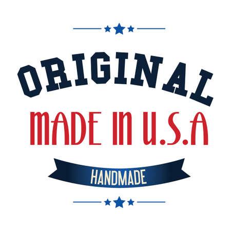 em: Made in USA label