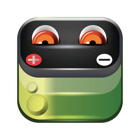 negativity: Battery face