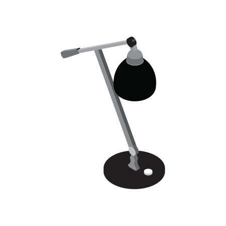 dimensional: Three dimensional table lamp